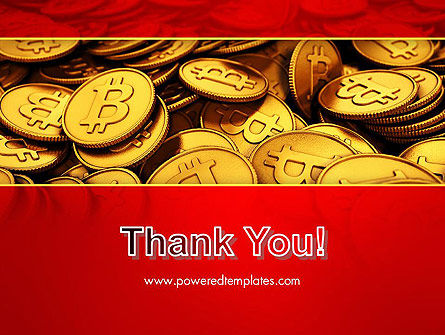 Scattered Bitcoins PowerPoint Template Slide 20