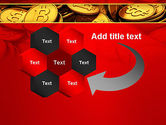 Scattered Bitcoins PowerPoint Template#11