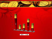 Scattered Bitcoins PowerPoint Template#17