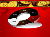 Scattered Bitcoins PowerPoint Template#19