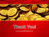 Scattered Bitcoins PowerPoint Template#20
