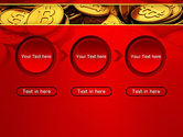 Scattered Bitcoins PowerPoint Template#5