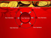 Scattered Bitcoins PowerPoint Template#7