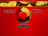 Scattered Bitcoins PowerPoint Template#9