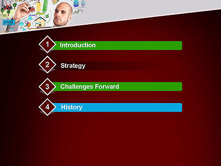 Ingenious PowerPoint Template, Slide 3, 13475, Business Concepts — PoweredTemplate.com