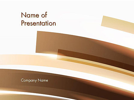 Abstract/Textures: Orbital Abstract PowerPoint Template #13476