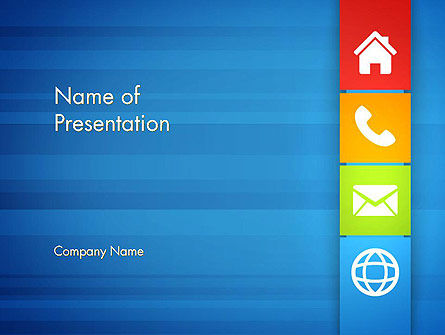 Customer Support Concept Presentation PowerPoint Template, 13477, Education & Training — PoweredTemplate.com