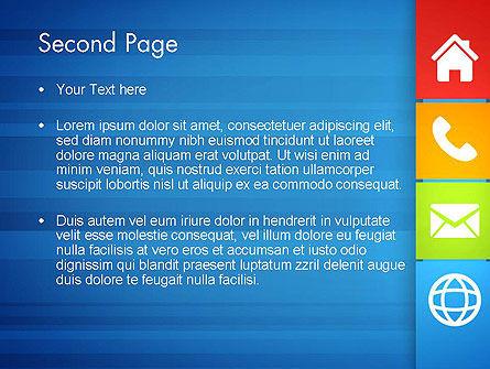 Customer Support Concept Presentation PowerPoint Template, Slide 2, 13477, Education & Training — PoweredTemplate.com