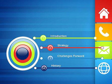 Customer Support Concept Presentation PowerPoint Template, Slide 3, 13477, Education & Training — PoweredTemplate.com