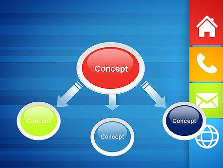 Customer Support Concept Presentation PowerPoint Template, Slide 4, 13477, Education & Training — PoweredTemplate.com