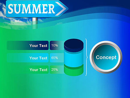 Summer Sign PowerPoint Template Slide 11