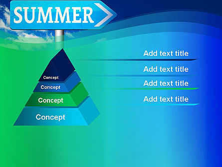 Summer Sign PowerPoint Template Slide 12