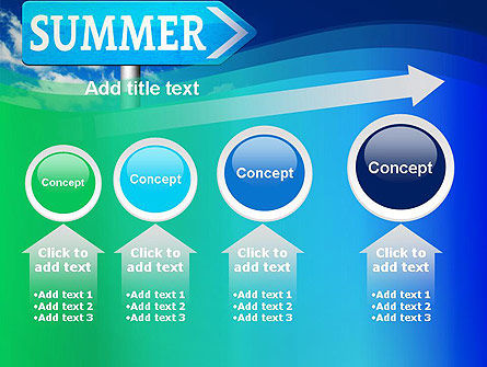 Summer Sign PowerPoint Template Slide 13