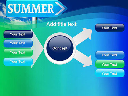 Summer Sign PowerPoint Template Slide 14