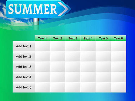 Summer Sign PowerPoint Template Slide 15