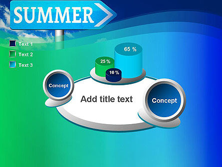Summer Sign PowerPoint Template Slide 16