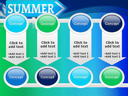 Summer Sign PowerPoint Template Slide 18