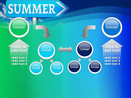 Summer Sign PowerPoint Template Slide 19