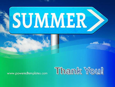 Summer Sign PowerPoint Template Slide 20