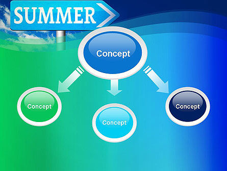 Summer Sign PowerPoint Template Slide 4