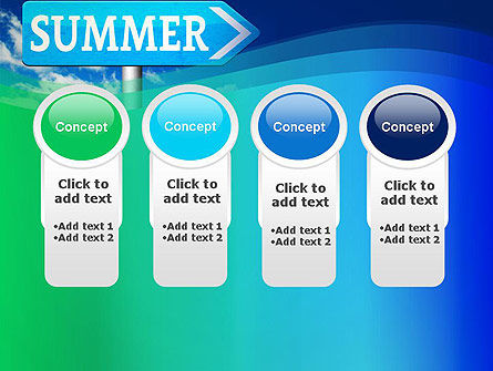 Summer Sign PowerPoint Template Slide 5