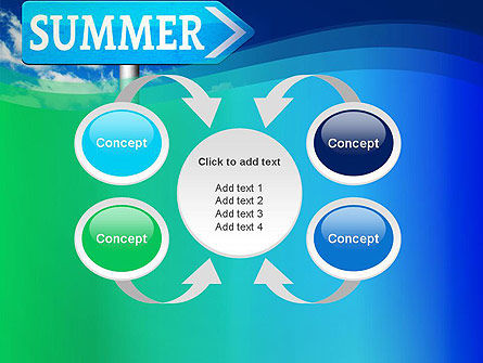 Summer Sign PowerPoint Template Slide 6