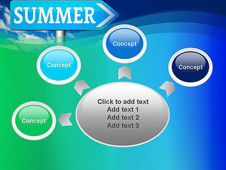 Summer Sign PowerPoint Template Slide 7