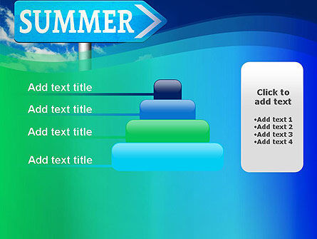 Summer Sign PowerPoint Template Slide 8