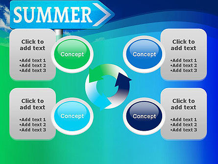 Summer Sign PowerPoint Template Slide 9