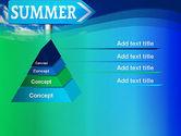Summer Sign PowerPoint Template#12