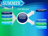 Summer Sign PowerPoint Template#14