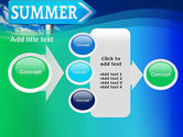 Summer Sign PowerPoint Template#17