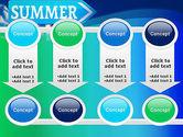 Summer Sign PowerPoint Template#18
