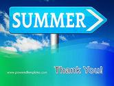 Summer Sign PowerPoint Template#20