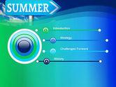 Summer Sign PowerPoint Template#3