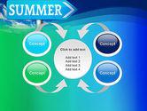 Summer Sign PowerPoint Template#6