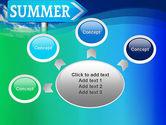 Summer Sign PowerPoint Template#7