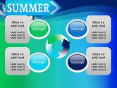 Summer Sign PowerPoint Template#9