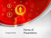Careers/Industry: 创建人员网络PowerPoint模板 #13482