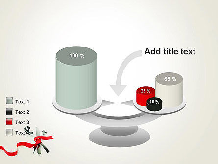 Fork Knife and Spoon Tied Up With Red Ribbon PowerPoint Template Slide 10