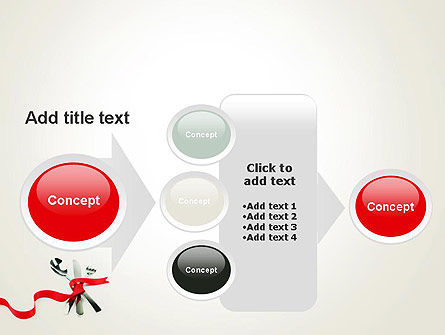 Fork Knife and Spoon Tied Up With Red Ribbon PowerPoint Template Slide 17