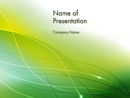 Abstract/Textures: Green Abstract Grass PowerPoint Template #13485