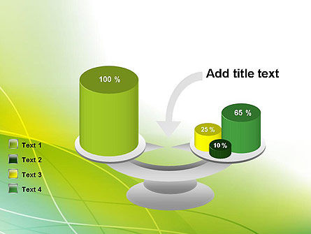 Green Abstract Grass PowerPoint Template Slide 10