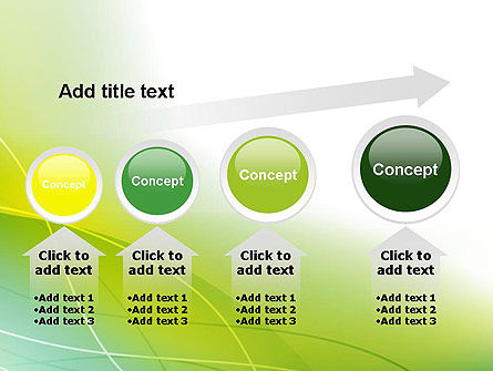 Green Abstract Grass PowerPoint Template Slide 13