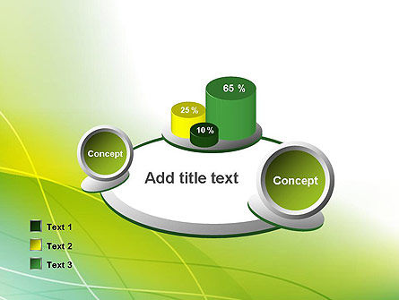 Green Abstract Grass PowerPoint Template Slide 16