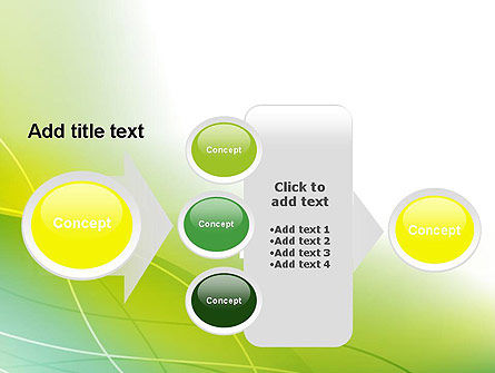Green Abstract Grass PowerPoint Template Slide 17