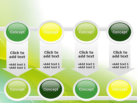 Green Abstract Grass PowerPoint Template Slide 18