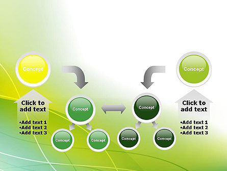 Green Abstract Grass PowerPoint Template Slide 19