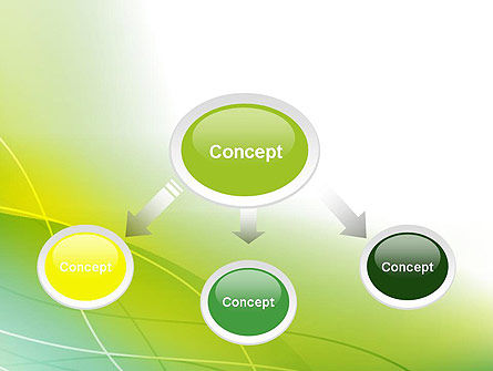 Green Abstract Grass PowerPoint Template Slide 4