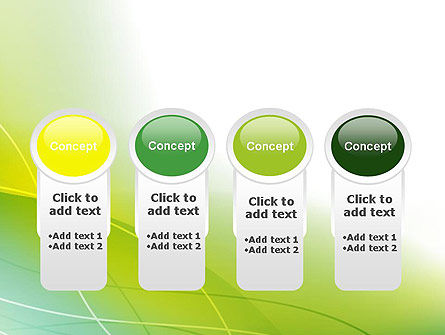 Green Abstract Grass PowerPoint Template Slide 5